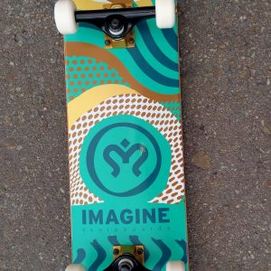 Skate Completo IMAGINE Skateboard Wave 8""