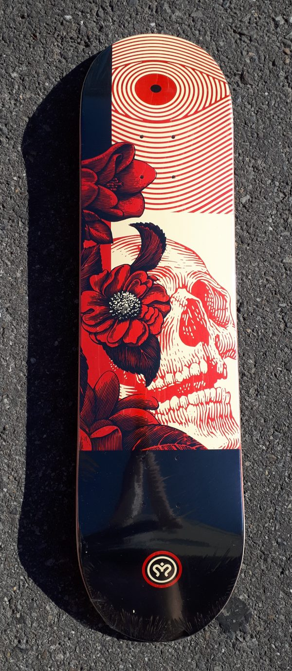 tabla skate imagine death flower