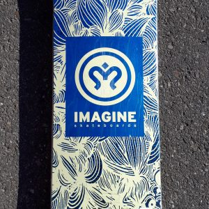 tabla skate imagine jungle 8.5""