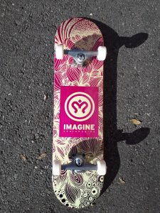 SKATE COMPLETE IMAGINE JUNGLE 8""