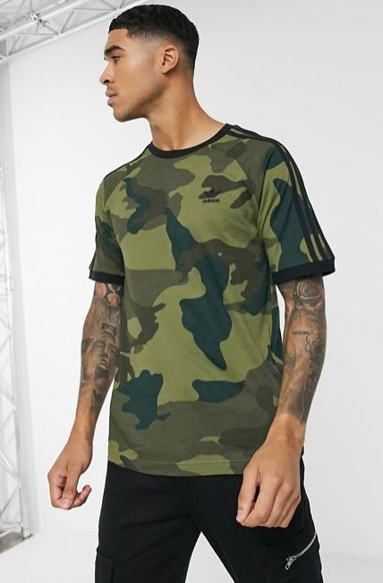 3 stripes camuflaje Cali adidas Originals