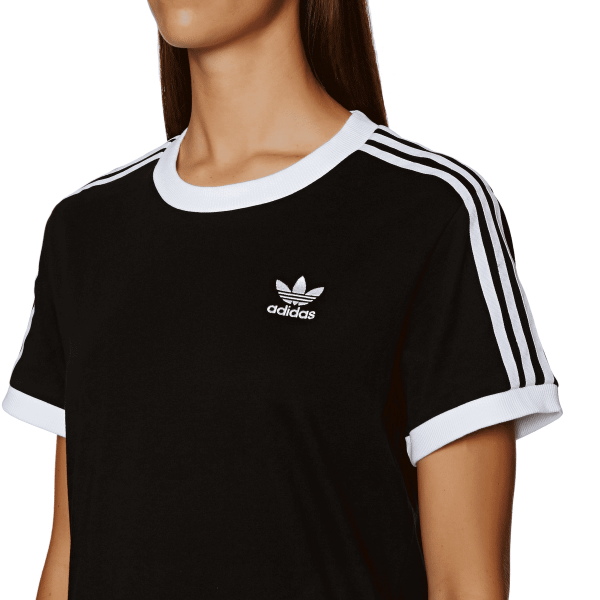 Camiseta ADIDAS Originals 3 Stripe black
