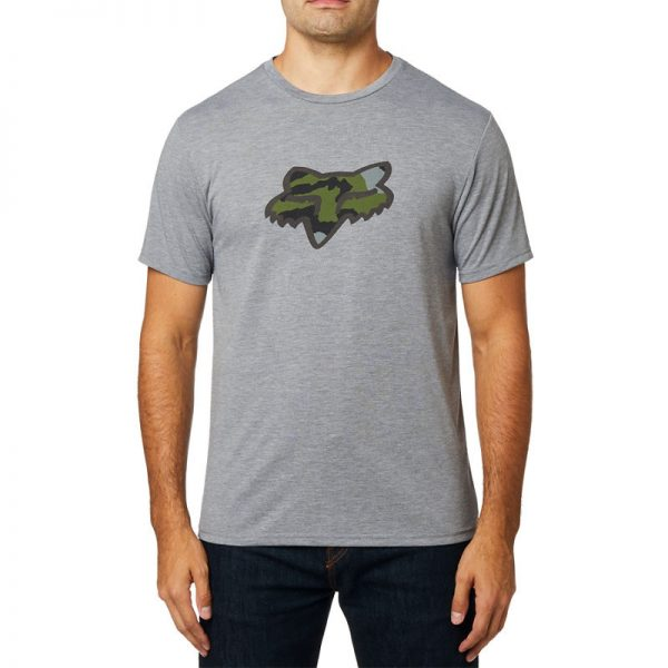 Camiseta FOX técnica de manga corta Predator heather graphite