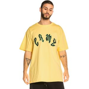 grimey yoga fire tee Yellow