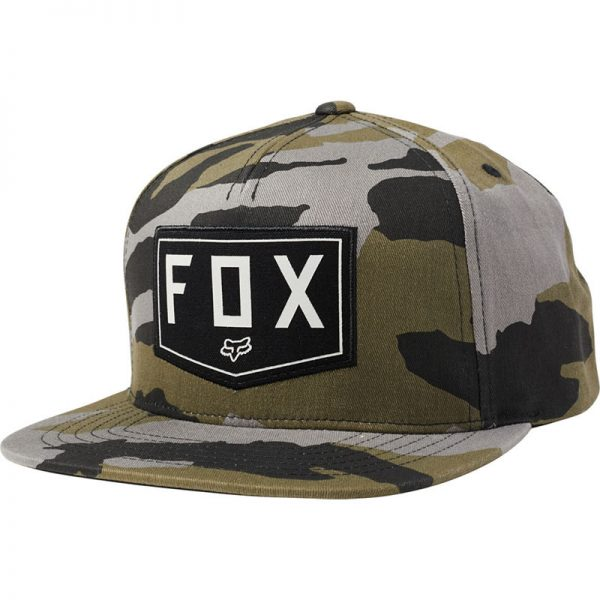 Gorra fox snapback Shield