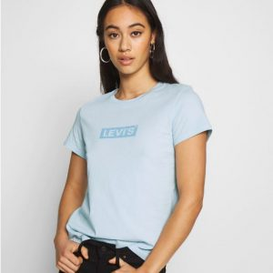 camiseta LEVIS THE PERFECT TEE BOX TAB BABY BLUE