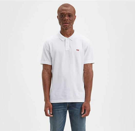 POLO LEVIS HOUSEMARK - bright white