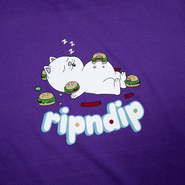 RIPNDIP Fat Hungry Baby Tee (Puple)