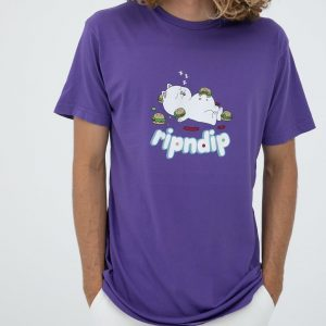 RIPNDIP Fat Hungry Baby Tee (Purple)