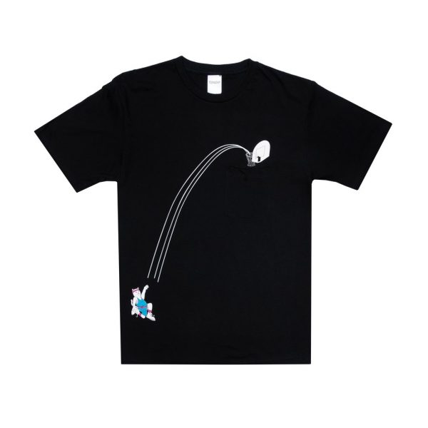 RIPNDIP Hoops Pocket Tee (Black)