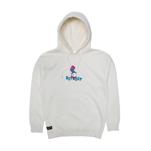 sudaderea RIPNDIP NERM IN A HAT HOODIE WHT