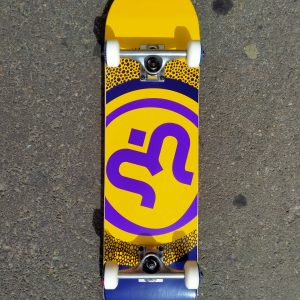 SKATE COMPLETE IMAGINE ROUND YELLOW PURPLE