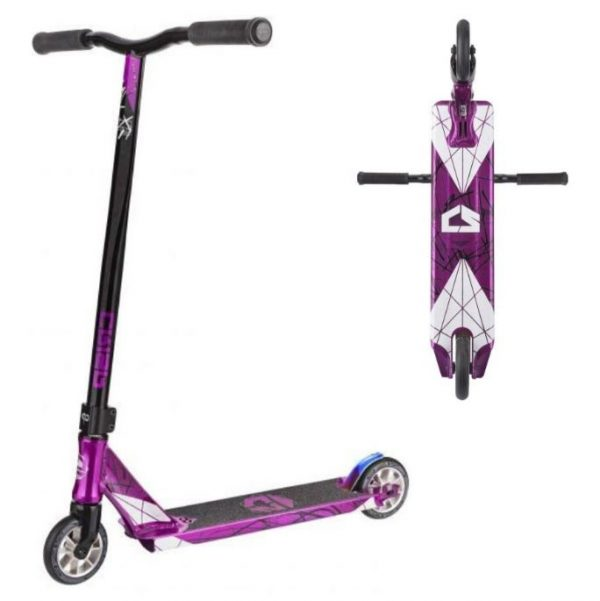 Scooter crisp inception trans purple black