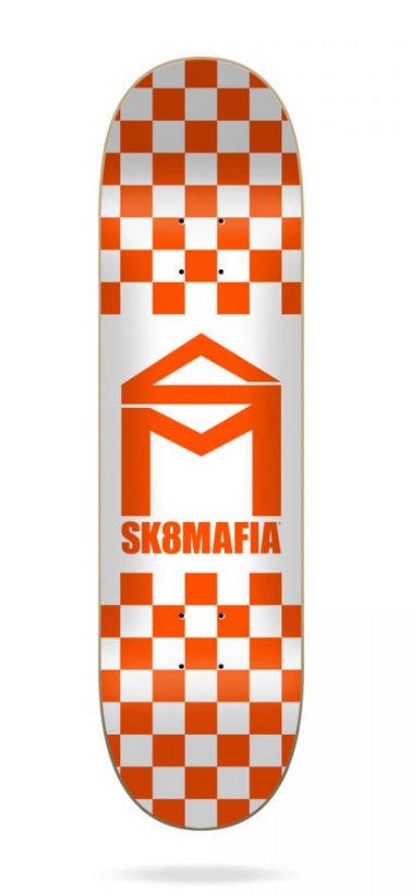 Sk8Mafia-HouseLogoChecker-orange-8.5-
