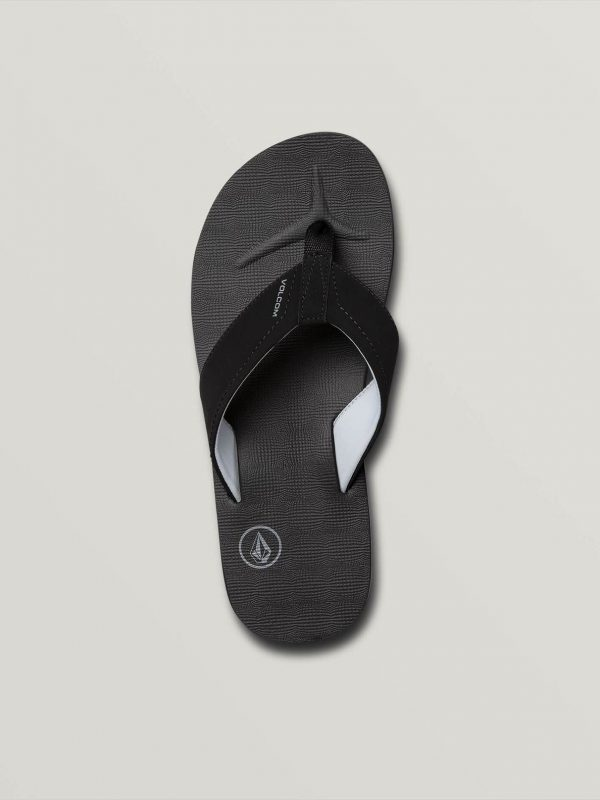 Chancla volcom victor black