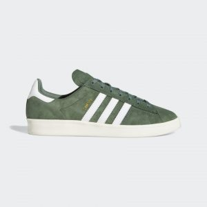 Zapatilla ADIDAS Campus ADV green white