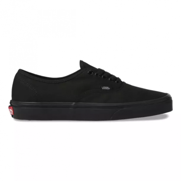 zapatilla authentic black black