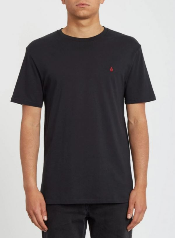 camiseta volcom stone blanks black