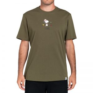 Camiseta ELEMENT Peanuts Fire