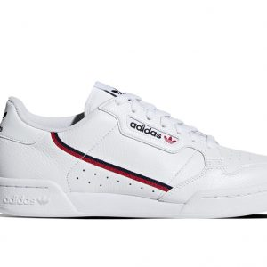 zapatilla adidas continerntal 80 white leather
