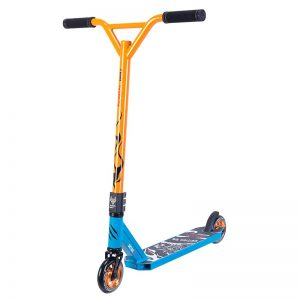 scooter demon d6 bestial wolf blue orange