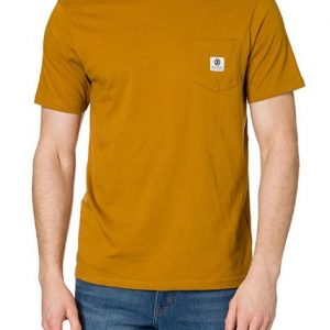 Camiseta ELEMENT Basick Pocket Brown
