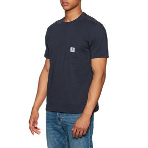 camiseta element basick pocket navy