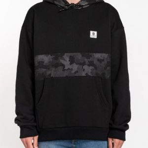 sudadera element resist hoodie black