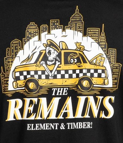 element taxi driver flint black the remains