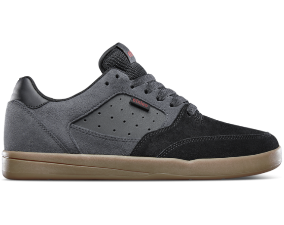 zapatilla ETNIES VEER ZAPATILLA (BLACK DARK GREY GUM)