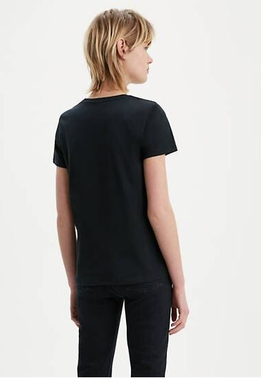 levis the perfect graphic tee BLACK - BLACK