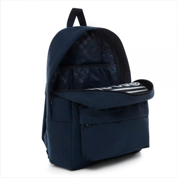 mochila vans old skool iii navy