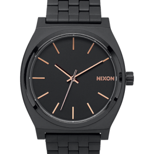 NIXON TIME TELLER GOLD ROSE