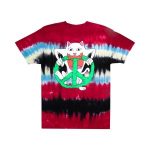 camiseta ripndip peace no love