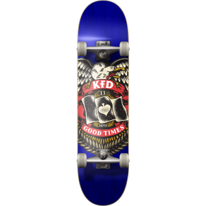 Skate completo KFD Young Gunz Badge Navy 7.75