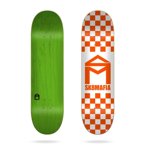 Tabla Sk8MAFIA House Logo Checker 8.5″