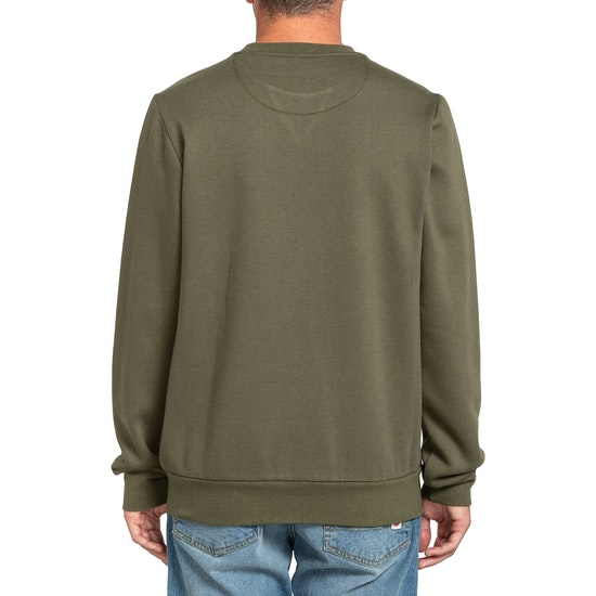 Sudadera Element Cornell Crew Army