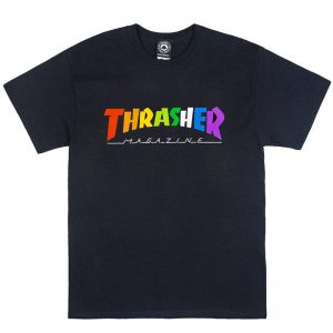 Camiseta Thrasher rainbow