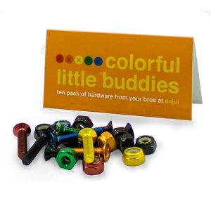 tornillos enjoi colorfull little buddies bolt colores