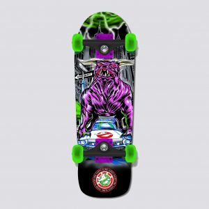 "GHOSTBUSTERS 9.5"" GB ZUUL CRUISER - SKATE COMPLETO"