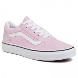 vans Old Skool Lilac Snow-True White