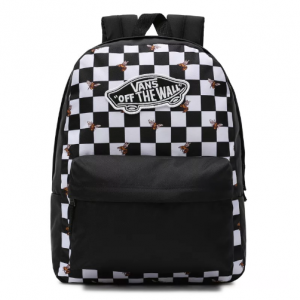 vans realm backpack bee checker