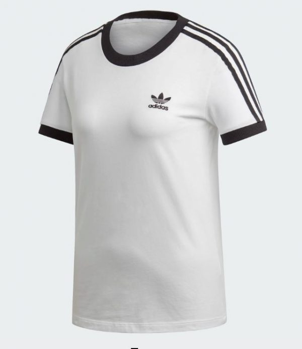 CAMISETA ADIDAS 3 STRIPE WHITE